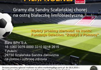 Zapraszamy na Charytatywny Turniej Piłki Nożnej Auto-Land